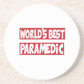 El mejor Paramedic. del mundo Posavasos Manualidades