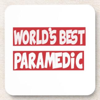 El mejor Paramedic. del mundo Posavasos
