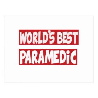El mejor Paramedic. del mundo Postales