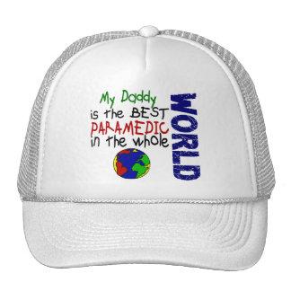 El mejor paramédico en el mundo 2 (papá) gorros