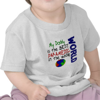 El mejor paramédico en el mundo 2 (papá) camiseta