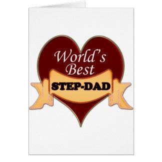 El mejor Paso-Papá del mundo Felicitacion