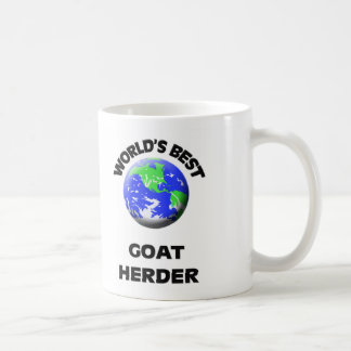 El mejor pastor de la cabra del mundo tazas