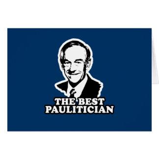 El mejor Paulitician Felicitacion
