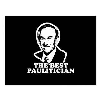 El mejor Paulitician Tarjeta Postal