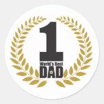 el mejor pegatina del papá