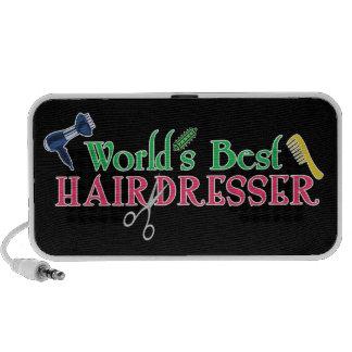 El mejor peluquero del mundo mini altavoz