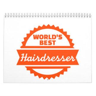 El mejor peluquero del mundo calendarios de pared
