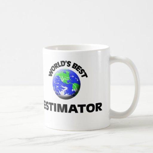 El mejor perito del mundo tazas de café