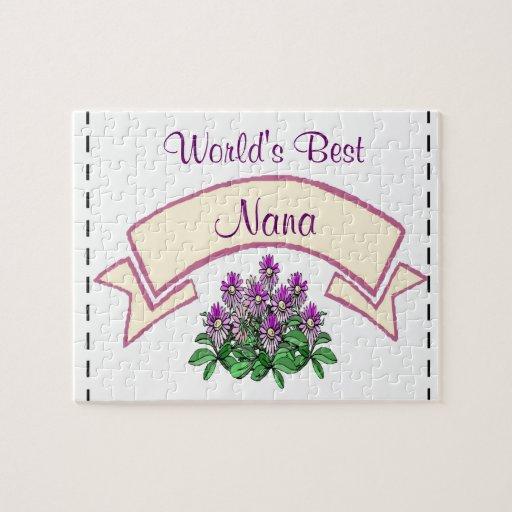 El mejor personalizar de Nana del mundo para Nam d Rompecabeza Con Fotos