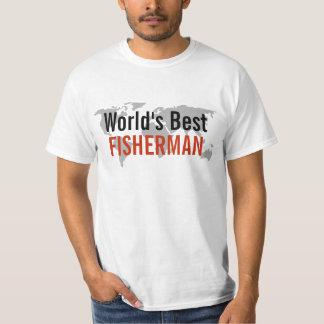 El mejor pescador del mundo playera