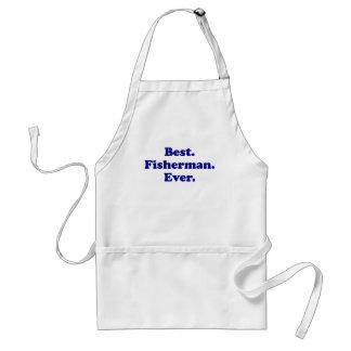 El mejor pescador nunca delantales