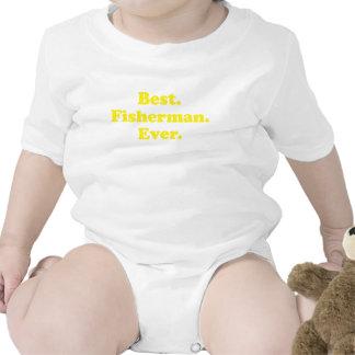El mejor pescador nunca camiseta