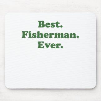 El mejor pescador nunca tapete de raton