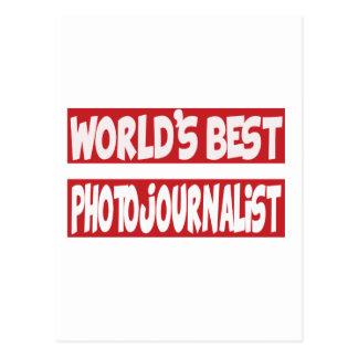 El mejor Photojournalist. del mundo Tarjeta Postal