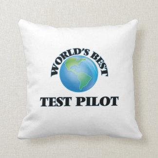 El mejor piloto de la prueba del mundo cojin