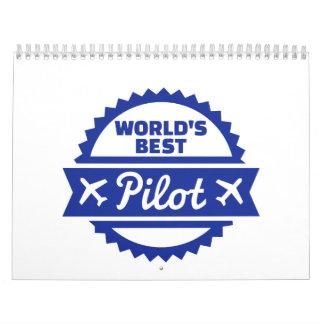 El mejor piloto del mundo calendario