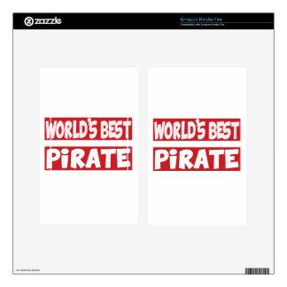 El mejor pirata del mundo skin para kindle fire