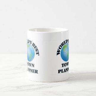 El mejor planificador de la ciudad del mundo tazas de café