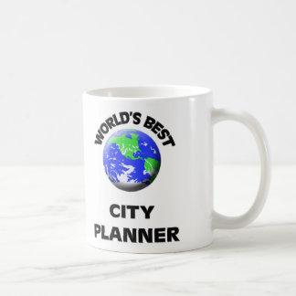 El mejor planificador de la ciudad del mundo tazas