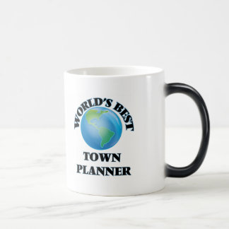 El mejor planificador de la ciudad del mundo taza mágica