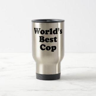 El mejor poli del mundo tazas