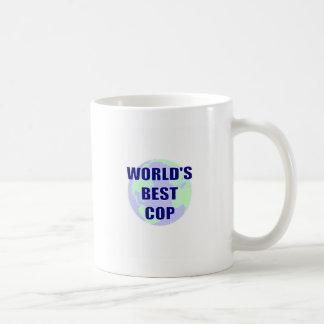 El mejor poli del mundo taza