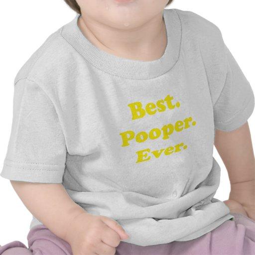El mejor Pooper nunca Camiseta
