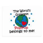 El mejor PopPop pertenece a mí Postales