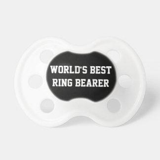 El mejor portador de anillo chupetes de bebé