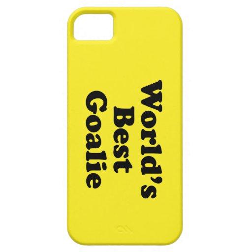 El mejor portero del mundo iPhone 5 Case-Mate carcasa