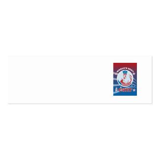 El mejor poster americano de la tarjeta de felicit tarjetas de visita