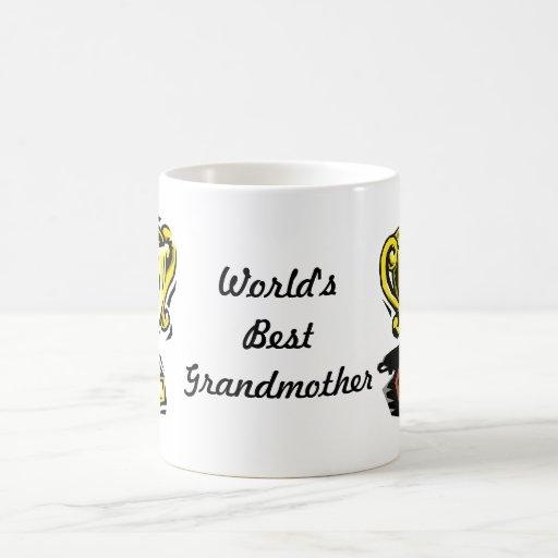 El mejor premio de la abuela del mundo taza