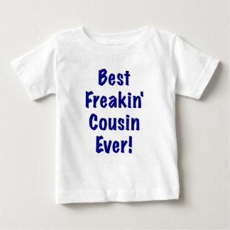 El mejor primo de Freakin nunca Camisetas