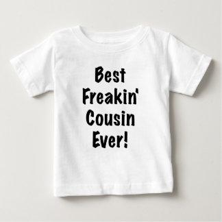 El mejor primo de Freakin nunca Playera Para Bebé