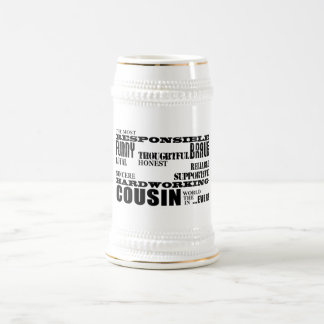 El mejor primo más grande 4 de los primos masculin jarra de cerveza