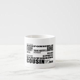 El mejor primo más grande 4 de los primos masculin taza espresso