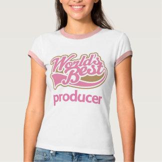 El mejor productor de los mundos rosados lindos playera