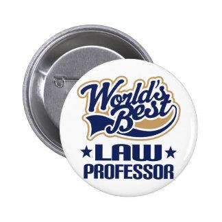 El mejor profesor de derecho de los mundos pin
