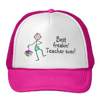 El mejor profesor de Freakin nunca Gorros