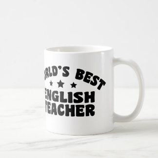 El mejor profesor de inglés del mundo taza
