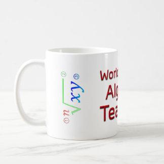 El mejor profesor de la álgebra del mundo con taza clásica