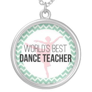 El mejor profesor de la danza del mundo - menta colgante redondo