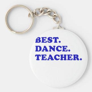 El mejor profesor de la danza llaveros personalizados