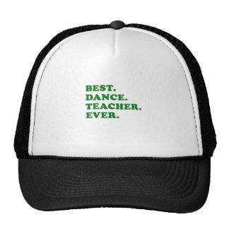 El mejor profesor de la danza nunca gorros bordados