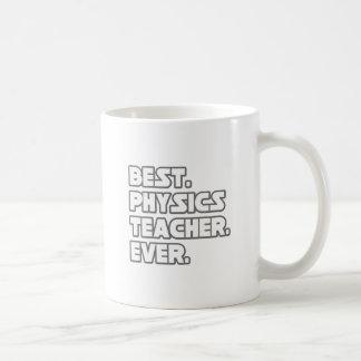 El mejor profesor de la física nunca tazas de café