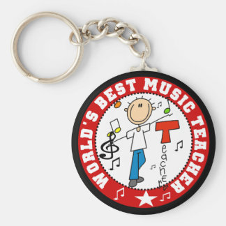 El mejor profesor de la música del mundo llaveros