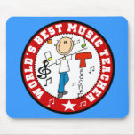 El mejor profesor de la música del mundo Mousepad Alfombrilla De Raton