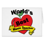 El mejor profesor de la música del mundo felicitaciones