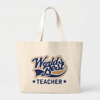 El mejor profesor de los mundos bolsas